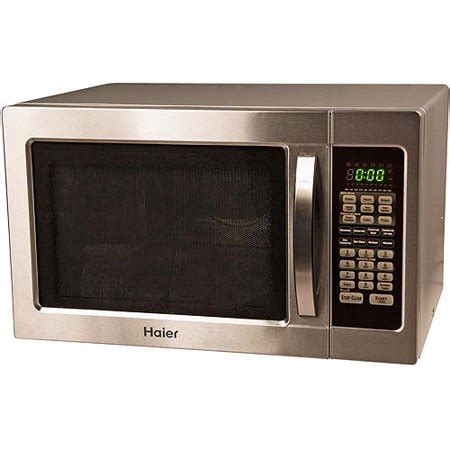 Walmart Countertop Microwave Ovens by Haier 1000 Watt Countertop Microwave Convection Oven