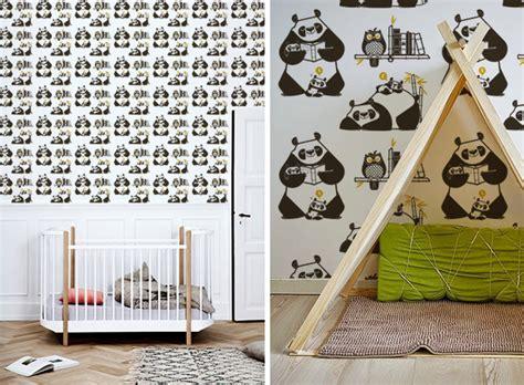 Robot Wall Stickers nouveaux papier peints enfants dinosaures panda