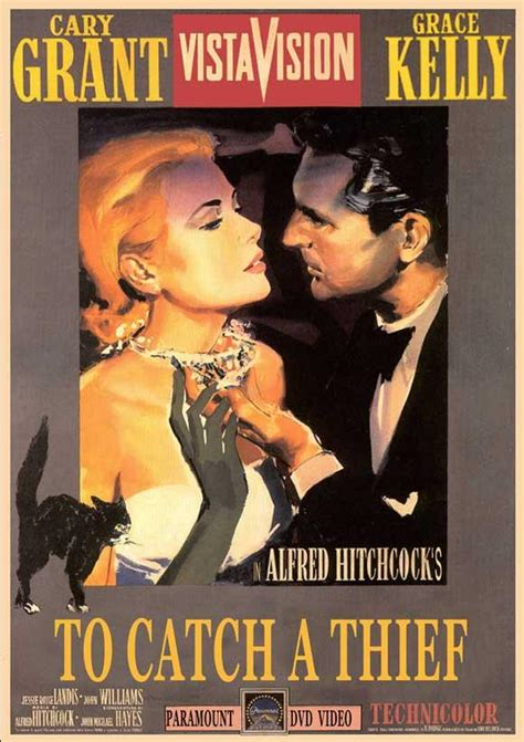 to catch a thief alfred hitchcock to catch a thief movie reproduction poster