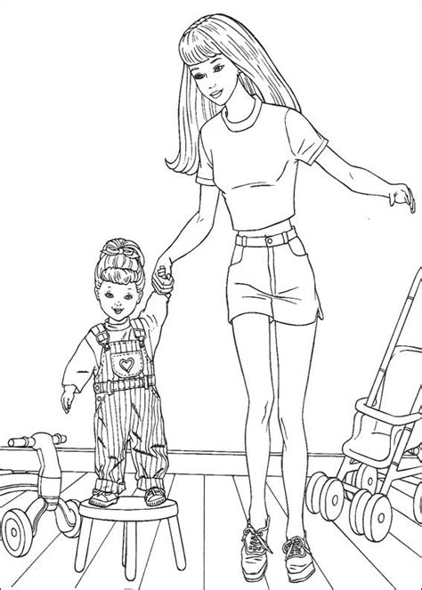 barbie model coloring pages 301 moved permanently