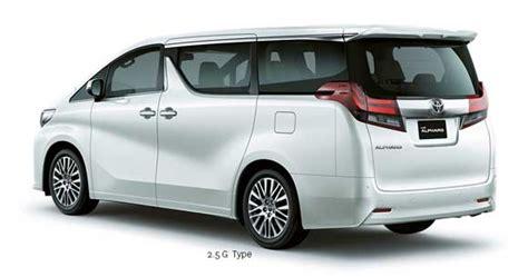Toyota Alphard Indonesia All New Alphard 2016 Indonesia Mesin Eksterior Interior