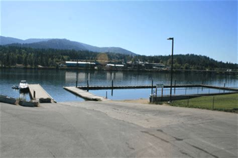 pend oreille river boat launch map access to outdoors pend oreille river bonner county idaho