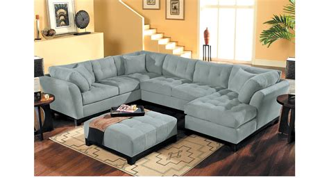 cindy crawford home decor 2 399 99 cindy crawford metropolis hydra 4pc sectional