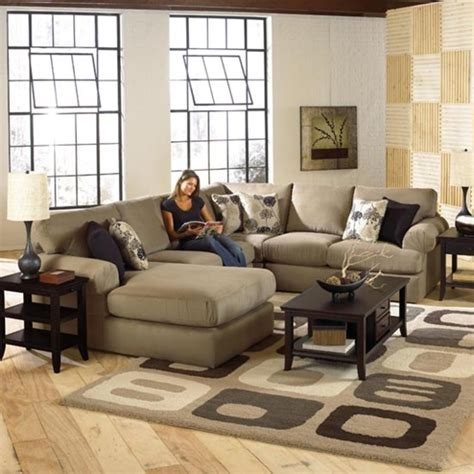 Sectional Sofa In Living Room Enhances Look Living Room Sectionals Designinyou