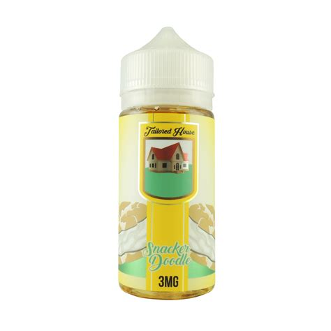 doodlebug vape tailored house 100ml snacker doodle vape genie
