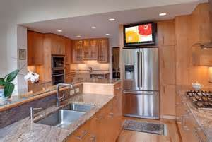 kitchen television ideas kitchen tvs