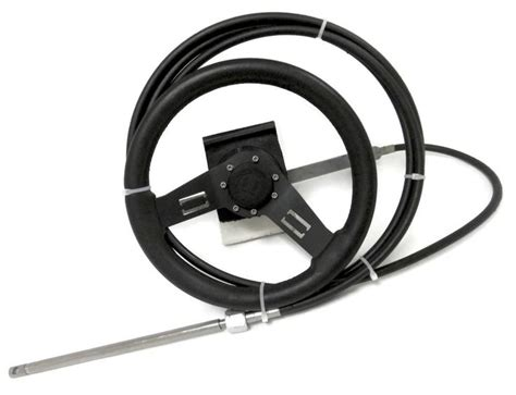 boat steering cable and wheel 1000 ideas about boat steering wheels on pinterest
