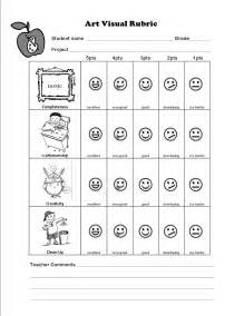 elementary rubric template teaching and learning through a visual rubric in the