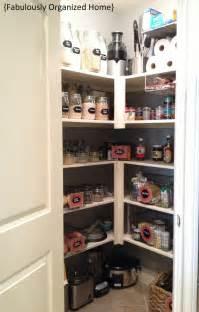 pantry organization ideas kitchen pinterest