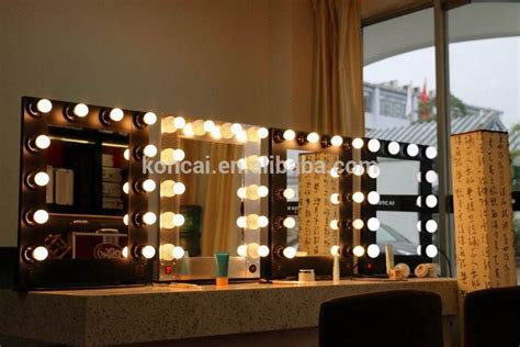 salon mirrors with lights wholesale cheap vanity hollywood led makeup mirror hair