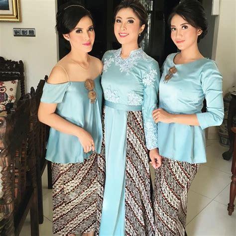 Blouse Batik Anak Merah Corak Kuning Milli On trend baju kebaya 2017 casual stylish dan modis