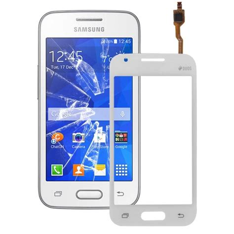 touch screen replacement for samsung galaxy v plus g318 white alex nld