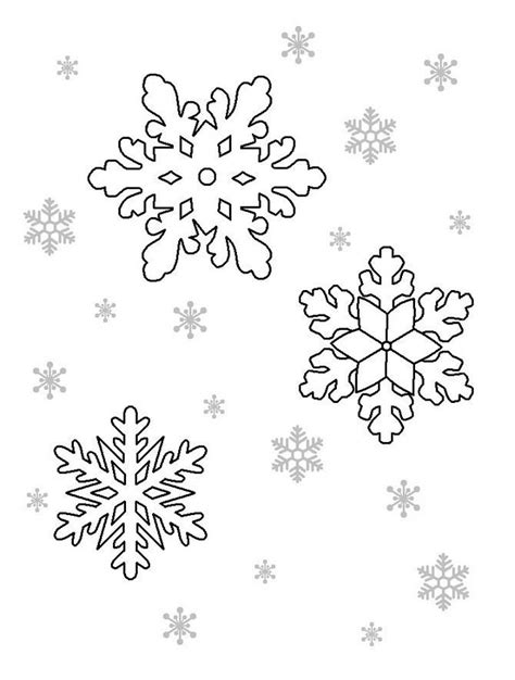snowflake stencil template snowflake stencils diy 100 ideas