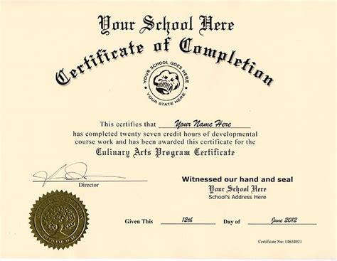 free ged diploma template 10 best images of culinary certificate templates cooking