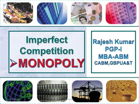 Economist Mba Competition by Monopoly Market Structure