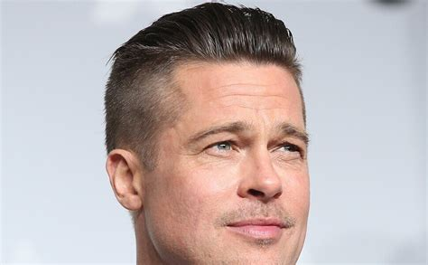 Brad Pitt Hairstyle by Brad Pitt Undercut Hairstyle