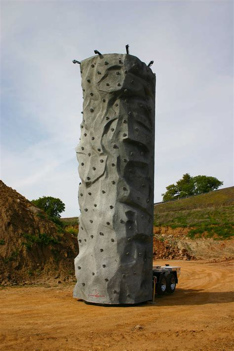mobile walls monolith mobile climbing wall engineering