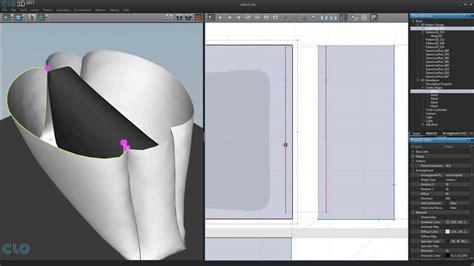 pattern design software 3d 65 3d clothing making bag youtube