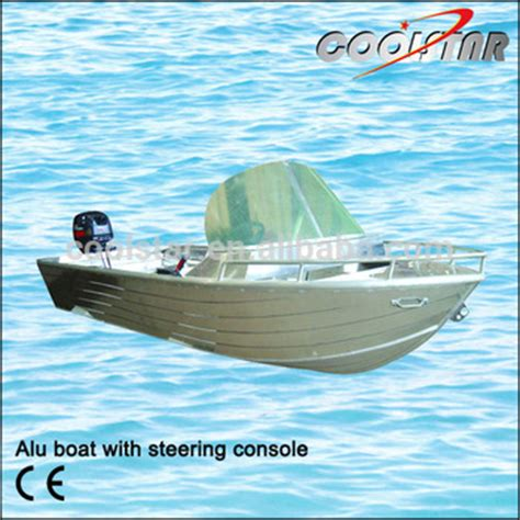 aluminum fishing boat with steering wheel aluminum boat with steering console buy aluminum boat