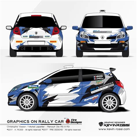 Porsche Sports Cup Aufkleber by Car Livery Design For Rally Team Christophe Vassor