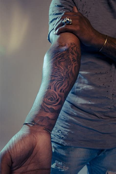 r amp b artist omarion gives an insight on his tattoos tattoodo