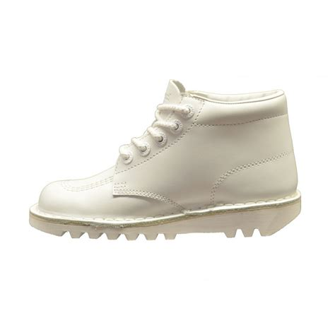 kickers white kickers kickers kick hi leather white c3