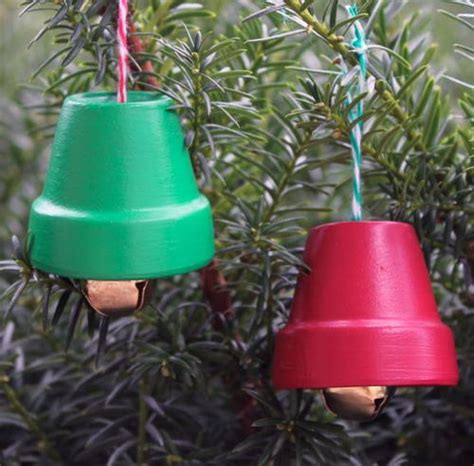 diy giant christmas bells terracotta bells diy ornaments diyideacenter