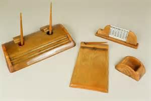 Antique Desk Accessories Antiques Atlas Deco Bakelite Desk Set