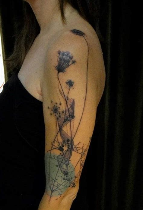 watercolor flower tattoo sleeve 17 best images about tattoos on sweet peas
