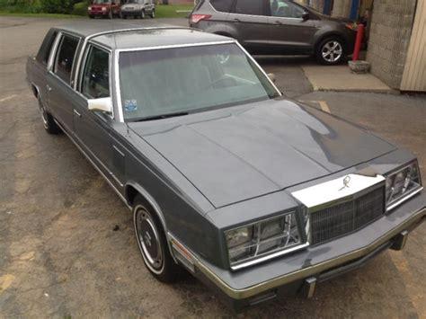 Executive Limousine by Chrysler Executive Limousine