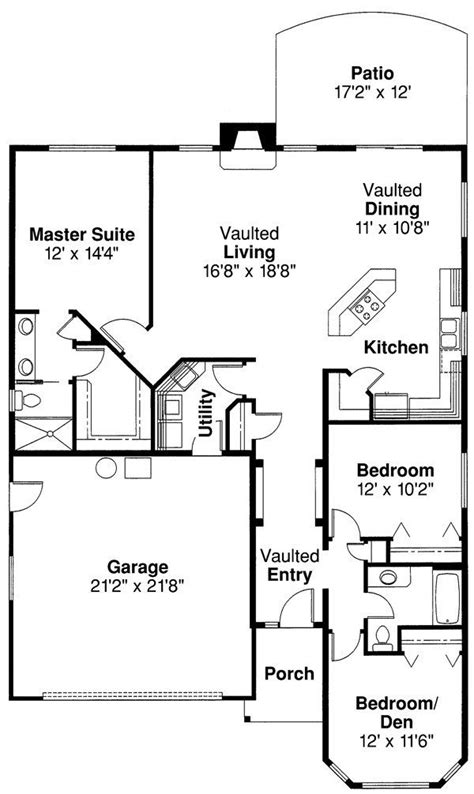 Narrow Lot Ranch House Plans by Narrow Lot Ranch House Plans Best Of Charming For Small