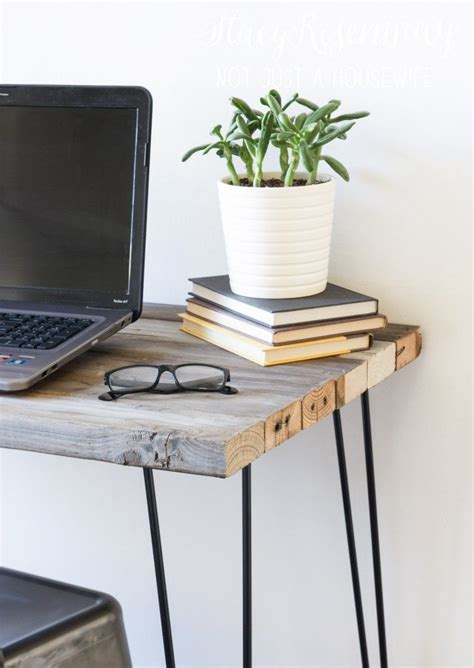 reclaimed wood standing desk 68 best headboard nightstand images on pinterest