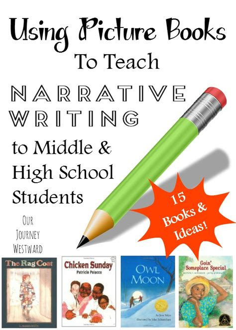using picture books to teach writing picture books that demonstrate narrative writing