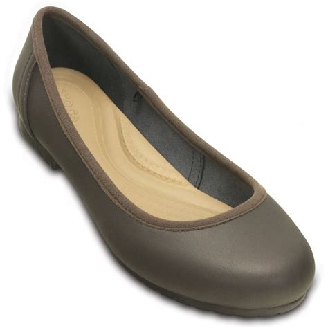 Kickers Ballet Suede Coklat Cofee crocs womens marin colourlite flat espresso espresso a great basic crocs from jelly egg uk