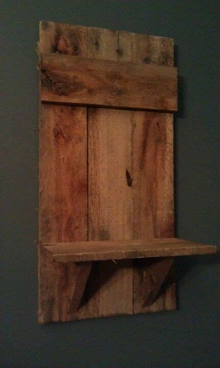 wood pallet shelf crafts and such pinterest
