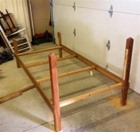 ring bed frame make a ring bed 14 steps with pictures