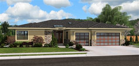 small modern ranch homes mascord plan 1245 the riverside hoodriver homes