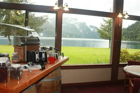 log cabin resort log cabin resort view of lake crescent picture of log
