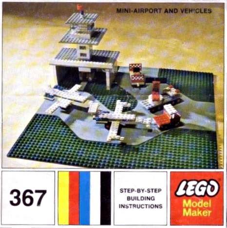 lego airport tutorial 367 2 mini airport and vehicle brickset lego set guide
