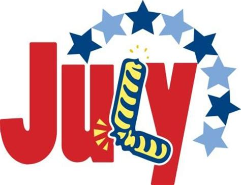 month of july clip art – cliparts