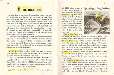 old cars and repair manuals free 2010 ford e150 engine control directory index ford 1953 ford 1953 ford owners manual