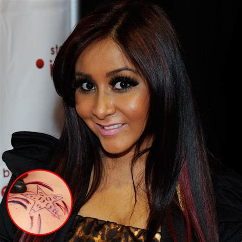 snooki tattoos snooki from bieber to dolly check out the