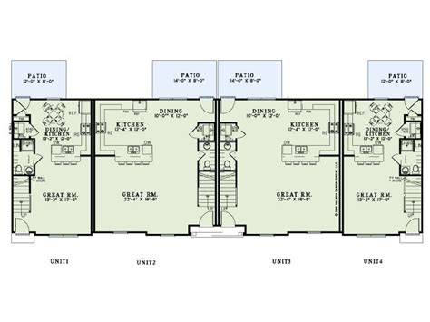 multi family apartment floor plans apartment plans multi family home design 025m 0091 at thehouseplanshop
