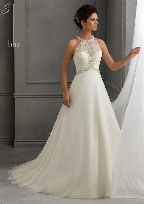 Chiffon Wedding Dress by Best 25 Chiffon Wedding Dresses Ideas Only On