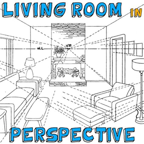 draw room how to draw a room with perspective drawing tutorial of a