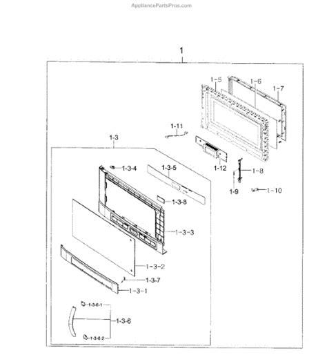 samsung microwave parts diagram samsung de34 00333a switch membrane smh92