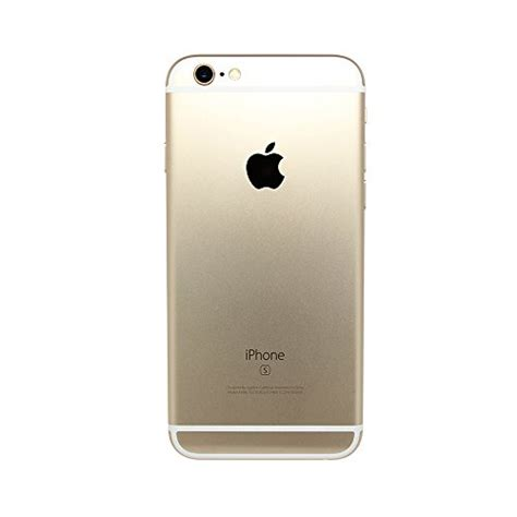 apple iphone 6s unlocked cellphone gold 16 gb certified refurbished