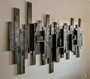 Organize Your Kitchen - its easy to create pallet wood shelves wood pallet ideas