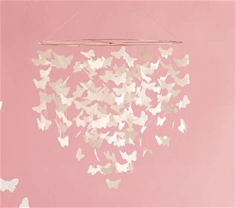 How To Make Paper Butterfly Mobile - paper butterflies for a pretty butterfly mobile