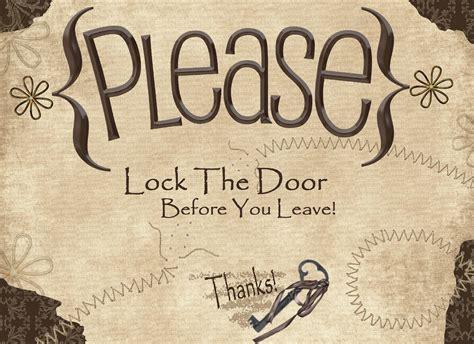 and lock the door lock door sign keep sc 1 st willconway co